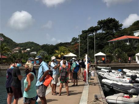 Liveaboard intensiivikurssi Grenadalla