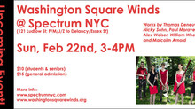 Washington Square Winds performs my new woodwind quintet!