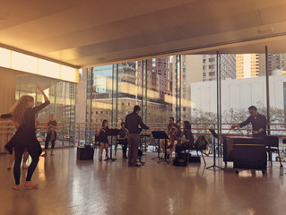 Juilliard Choreo-Comp Performance!