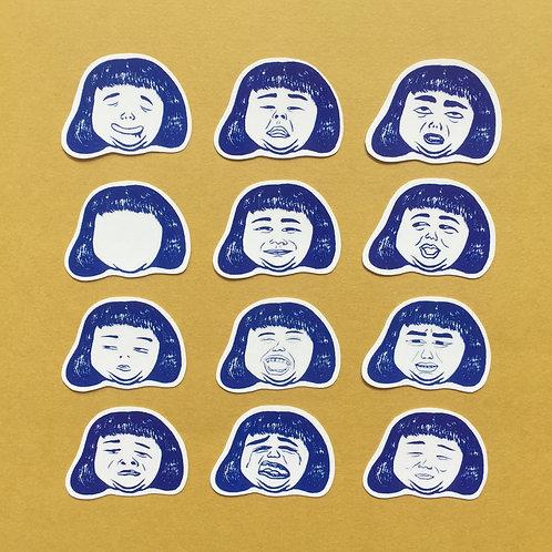 Sticker | 愈肥愈愛貼紙組