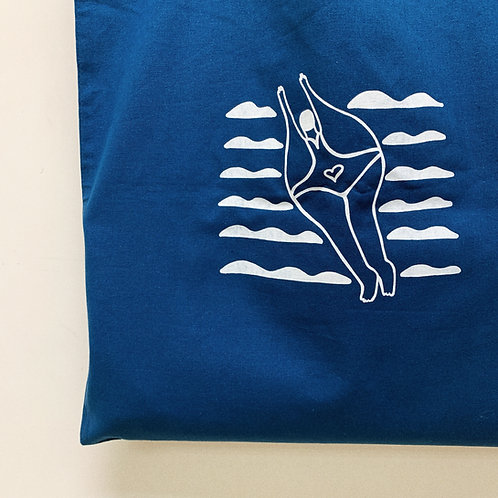 帆布袋   脂肪暢泳