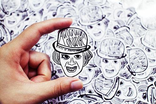 Sticker | 電影 發條橙 Alex 2張