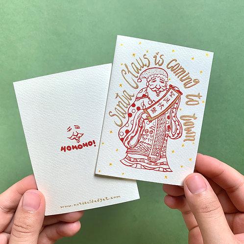 卡片 | 聖誕財神卡
