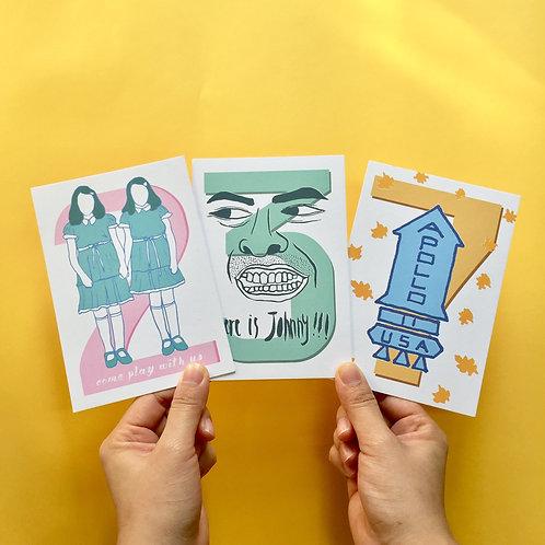 Postcard   The Shining 閃靈