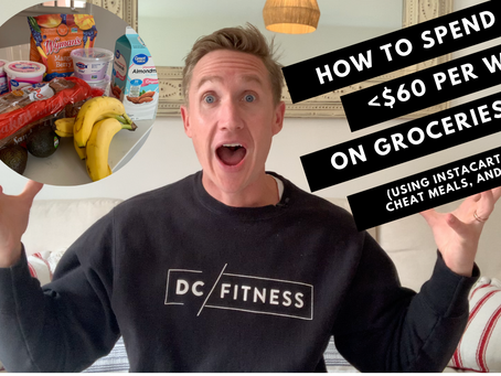 HOW TO SPEND <$60 PER WEEK ON A SHREDDING DIET