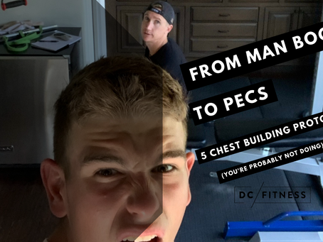 FROM MAN BOOBS TO DEFINED PECS 👉 5 NEW CHEST BUILDING PROTOCOLS YOU'RE PROBABLY NOT DOING...