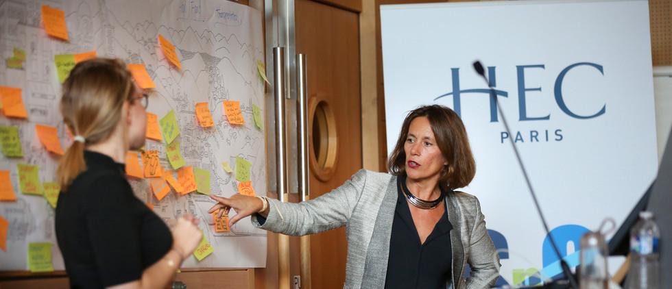 Séminaire villes durables à HEC