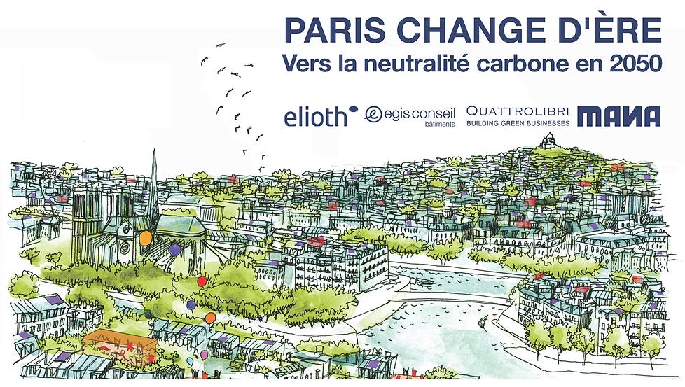 Paris 2050 stratégie neutralité carbone s
