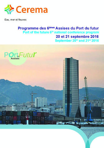 Assises Nationales du port du futur - CEREMA