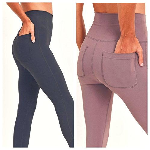 Back Pocket Leggings