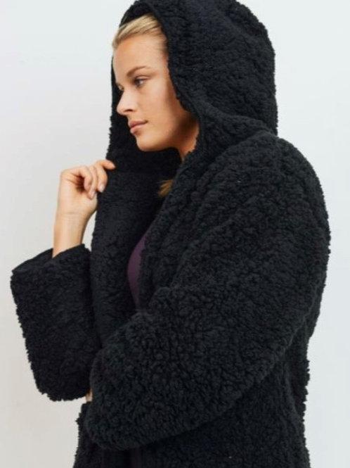 Sherpa Hoodie Jacket
