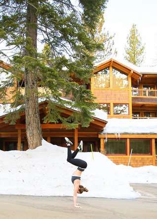 Pop Up with Still Water Yoga Lake Tahoe