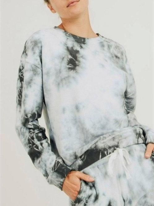 Cloud Tie Dye Pullover