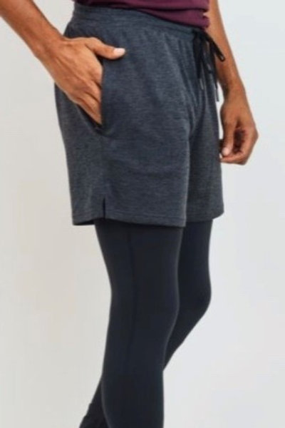 Freefloater Active Shorts 2 in 1 Fitted Leggings Combo
