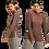 Thumbnail: Waffled Mock Neck Top