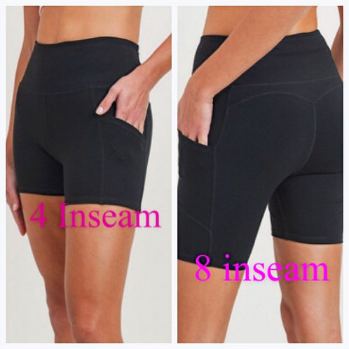 The Perfect Black Shorts