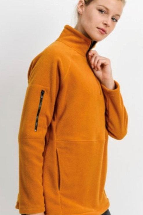 Longline Fleece Active Pullover