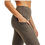 Thumbnail: Micro-Ribbed High Waisted Leggings