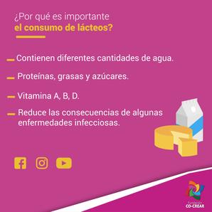 Beneficios de Consumir Lacteos