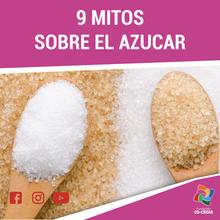 9 mitos y Verdades sobre el Azúcar