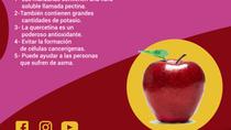 ¿Cuáles son los beneficios de comer una manzana al día?