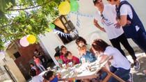 """""""Tijeras solidarias"""" visita el comedor """"Luz Esperanza"""""""