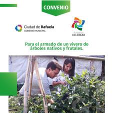 Convenio Municipal para el armado de un vivero de árboles nativos y frutales