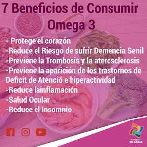 7 Beneficios de consumir Omega 3