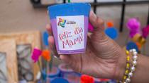 """Festejos por el Día de la Madre en la copa de leche """"La sonrisa de los niños"""""""