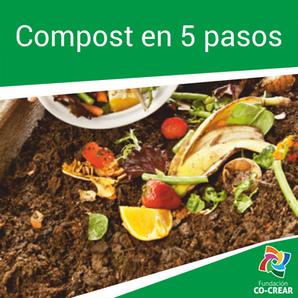 Como hacer Compost en 5 Pasos