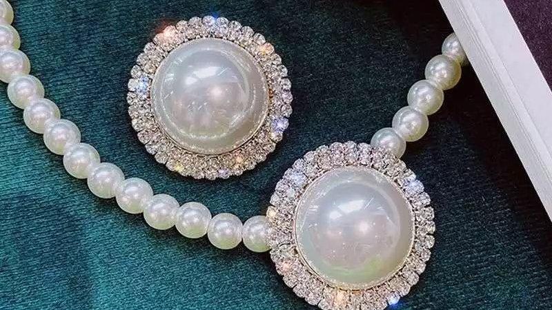 Encrusted Pearls