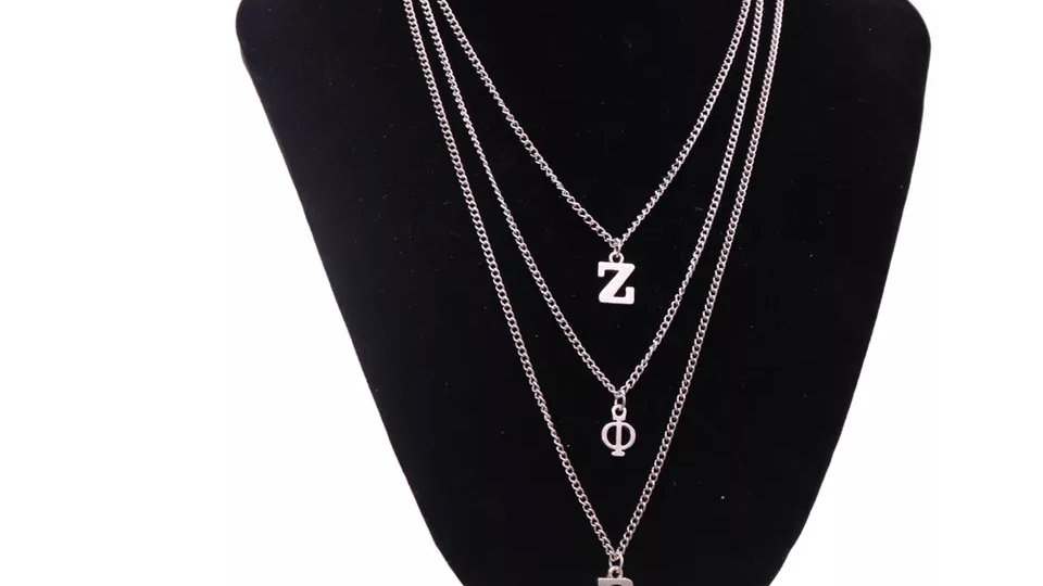 Layered Zeta Necklace (3 styles)