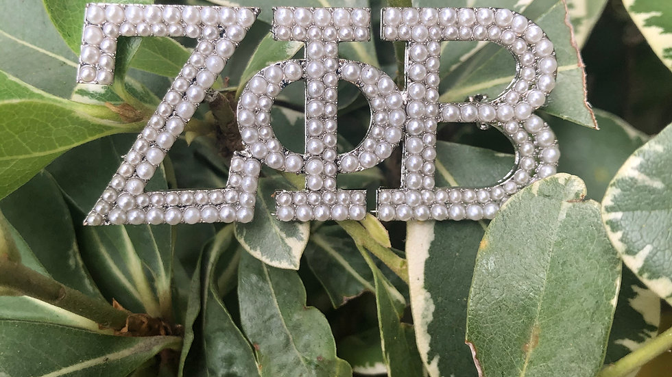 ZPhiB Pearlized Pin