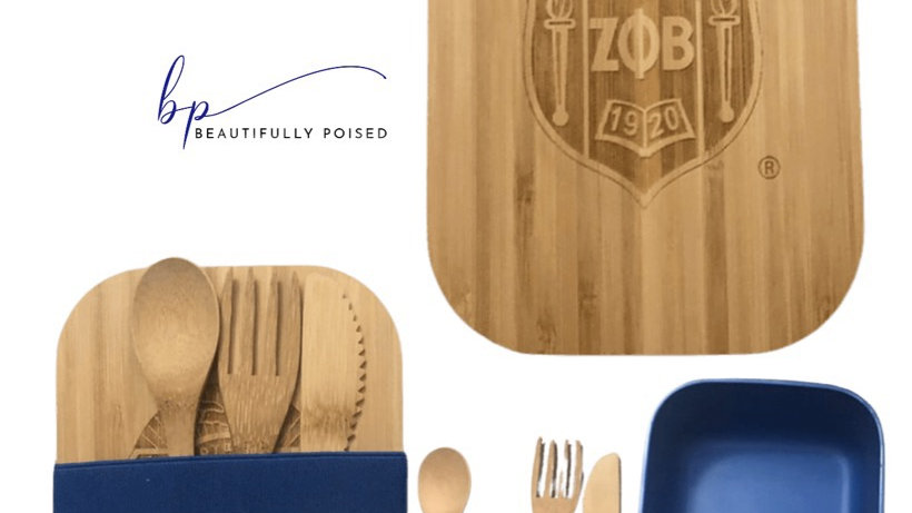 Bamboo Shield Lid Bento Box