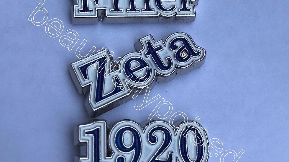 Zeta Pin Pack #1