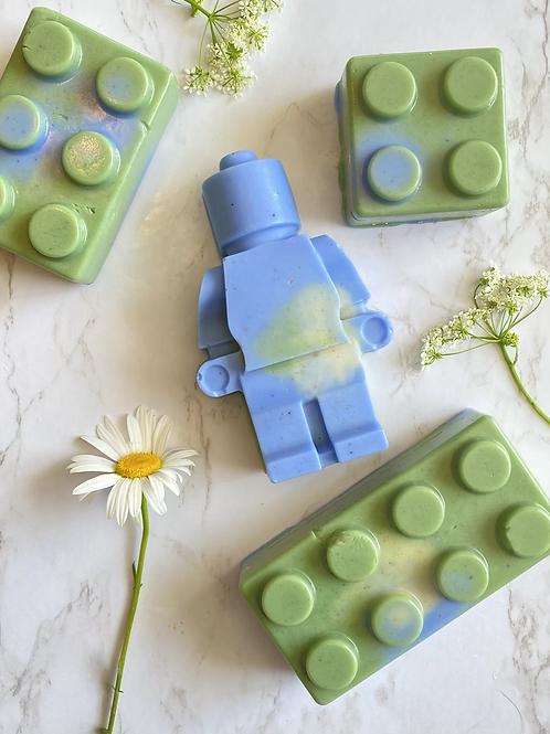Ensemble Lego bleuet & bergamote 🍊