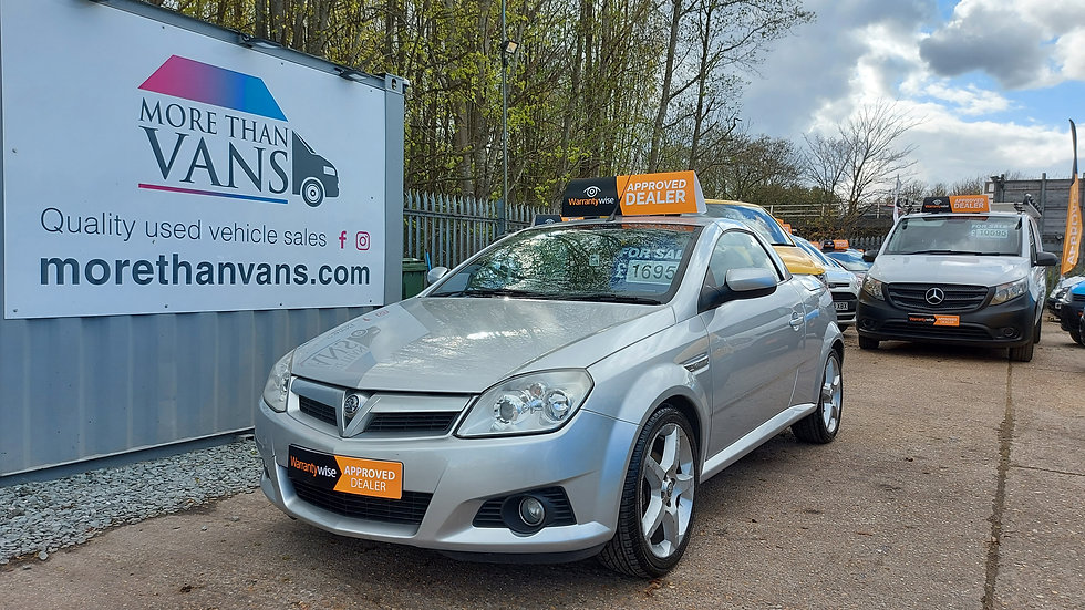 2006 VAUXHALL TIGRA 1.8 16V EXCLUSIVE