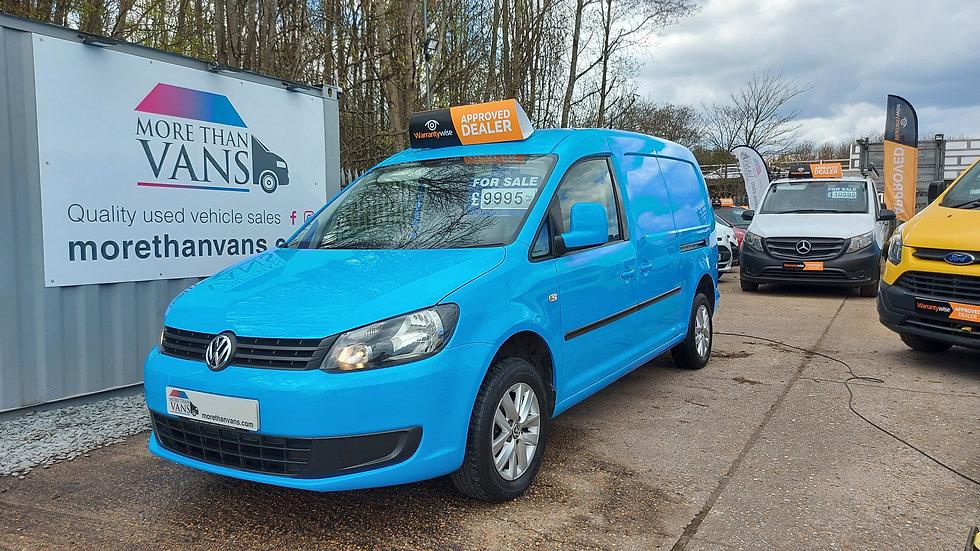 2015 Volkswagen Caddy Maxi 1.6 TDI EX BRITISH GAS, 50k, COLOUR CODED HIGHLINE