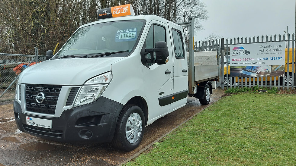 2014 Ford Nissan NV400 2.3 Diesel, 7 seater crewcab, double cab