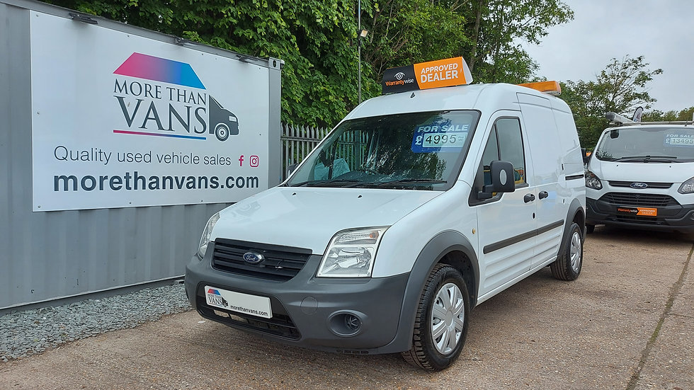 2013 Ford Transit Connect 1.8 TDCI LWB High top T230, EX CADENT GAS