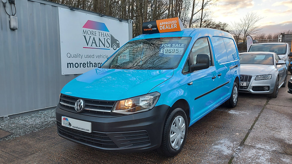 2015 Volkswagen Caddy Maxi 1.6 TDI EX BRITISH GAS, 50k facelift model