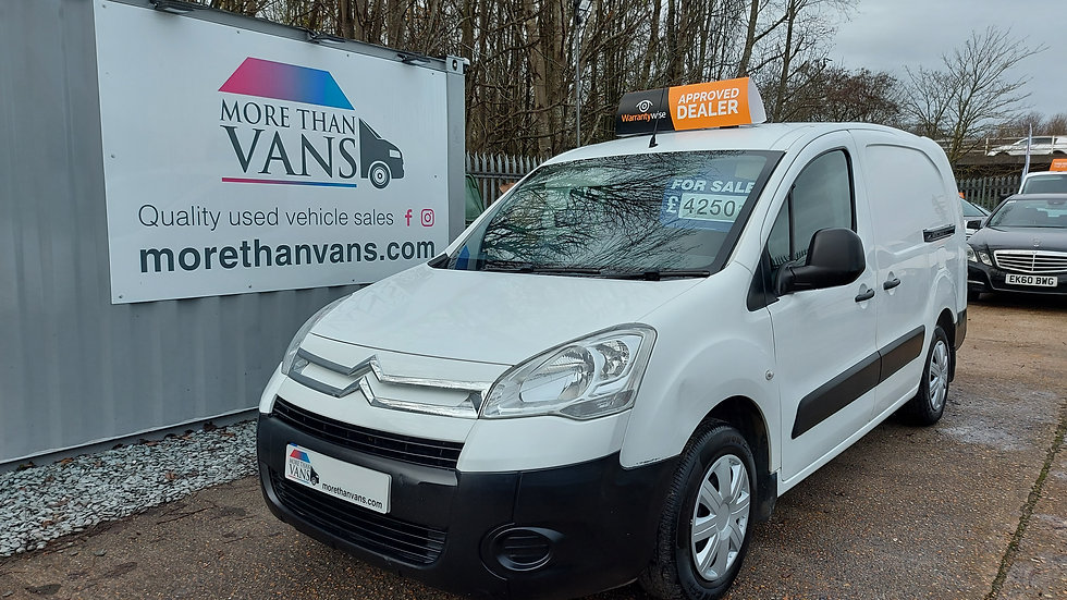 2010 Citroen Berlingo 1.6 HDI 90 3 seater lwb