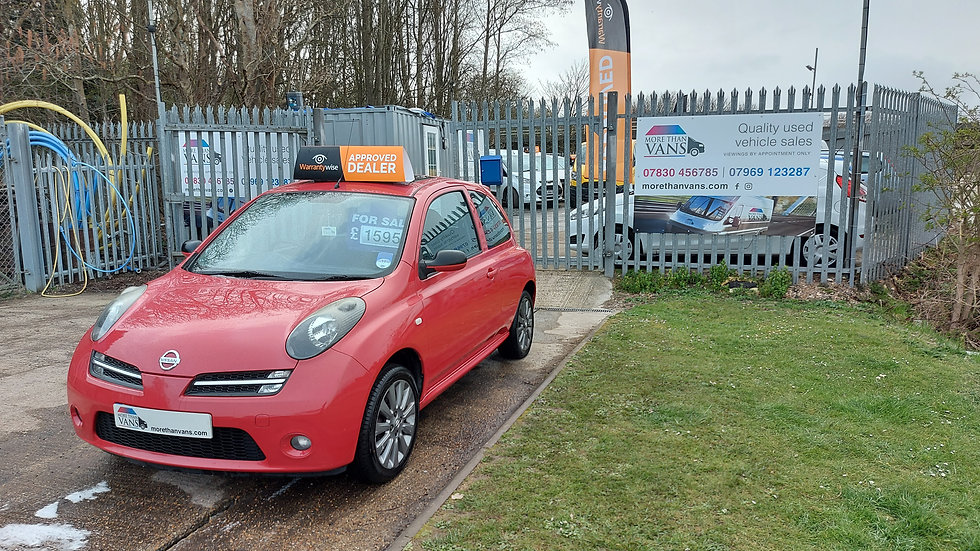 2006 NISSAN MICRA 1.2 PLUS, NEW CLUTCH