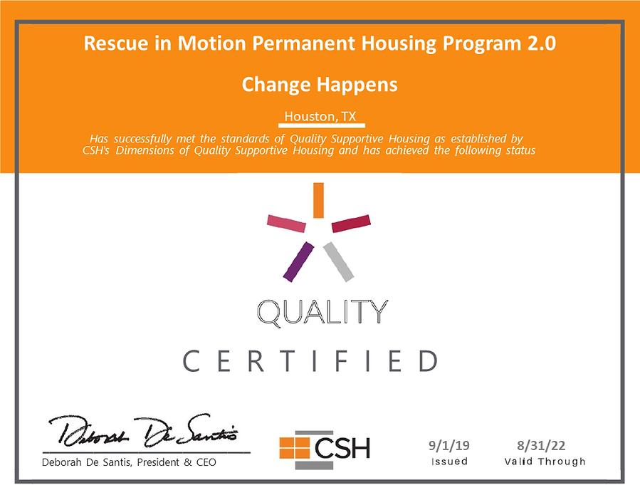Quality SH Certificate_Change Happens, R