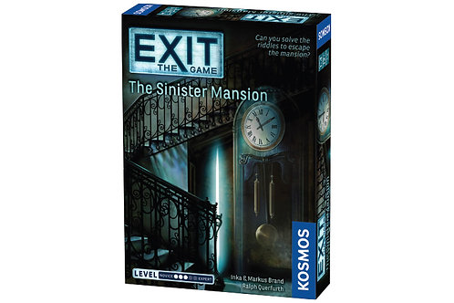 Exit:The Game - Sinister Mansion