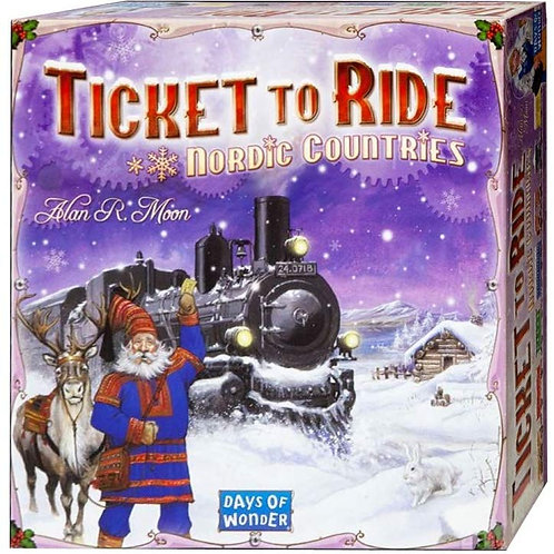 Ticket to Ride EP: Nordic Countries