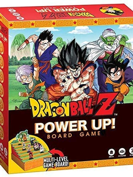 Dragonball Z Power Up! Board game