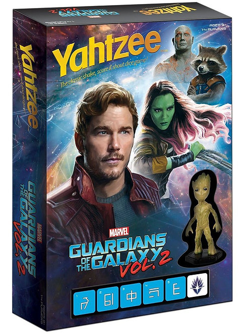 Yahtzee Guardians of the Galaxy