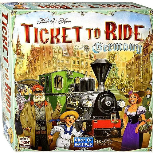 Ticket to Ride EP: Germany