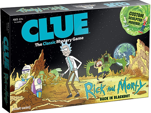 Clue: Rick & Morty